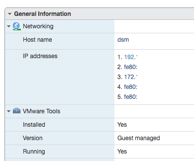 Open vmtools for dsm 6 1 on esxi 6 5 - Third Party Packages