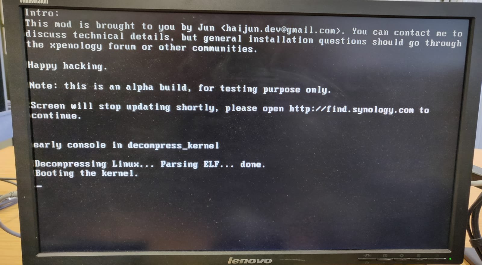 xpenology boot image