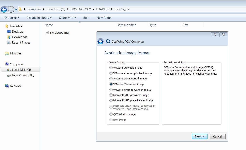 DSM 6 2 loader does not run correctly in VirtualBox/VMWare