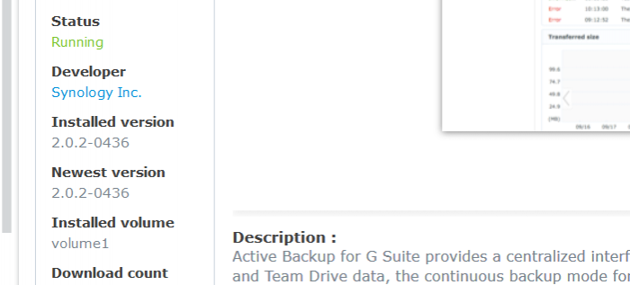 The New Active Backup - Synology Packages - XPEnology Community