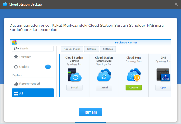 Need Cloud Station Server - Packages & DSM Features - XPEnology