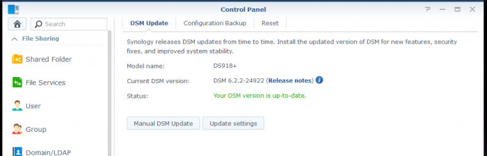 Synology Updates.PNG