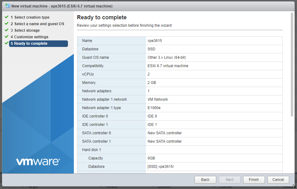 Tutorial: Install DSM 6 2 on ESXi 6 7 - Tutorials and Guides