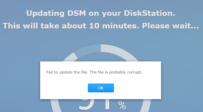 dsm-update-fail.png
